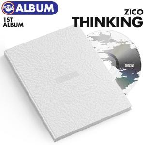 【ポスターなしで格安、即日発送】【 ZICO 正規1集アルバム  THINKING 】 ジコ  必ず、韓国チャート反映 ekorea-y