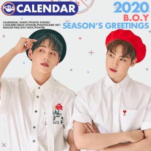 【即日発送】【 B.O.Y 2020年 公式カレンダー 】 BOfYou 2020 SEASON'S GREETINGS シーグリ 公式グッズ|ekorea-y