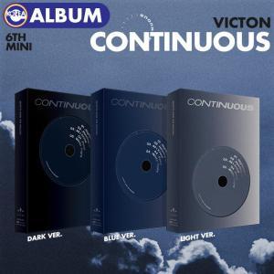 【ポスターなしで格安、即日発送】【 バージョン選択 / VICTON ミニ6集アルバム CONTINUOUS 】 ビクトン 6TH MINI ALBUM CD 必ず、韓国チャート反映 ekorea-y