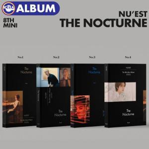 【ポスター(丸めて)付、即日発送】【 バージョン選択 / NU'EST The 8th Mini Album The Nocturne 】 ニューイースト ニュイ ミニアルバム 8集 CD|ekorea-y