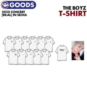 【即日発送】【 THE BOYZ T-SHIRT / Tシャツ 】 ドボイズ 2020 CONCERT RE:AL IN SEOUL OFFICIAL MD 公式グッズ ekorea-y