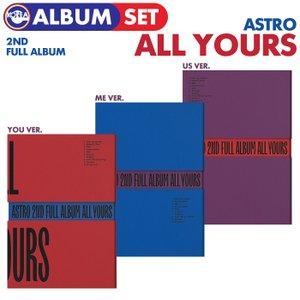 【即日発送】【 3種セット / ASTRO 正規2集 All Yours 】 アストロ 2nd ALBUM CD 必ず、韓国チャート反映|ekorea-y