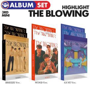 【初回限定ポスター(丸めて)付、即日発送】【 3種セット / Highlight 3集ミニアルバム The Blowing 】 ハイライト 3TH MINI ALBUM CD 必ず、韓国チャート反映|ekorea-y