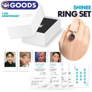 【数量限定1次予約】【 RING + PHOTO CARD SET / リング+フォトカードセット 】【  SHINee 13th ANNIVERSARY 】シャイニー SMTOWN & STORE 公式グッズ ekorea-y
