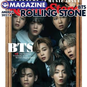 【即日発送】【 BTS 表紙(団体)&特集 / アメリカ雑誌 Rolling Stone 2021年6月 】防弾少年団 バンタン ローリングストーン【キャンセル不可】|ekorea-y