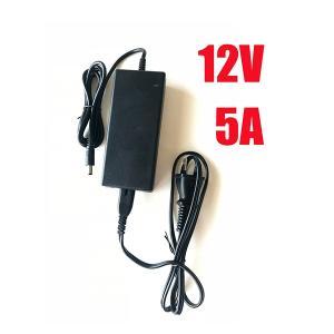 AC100V→DC12V変換 5A電源アダプター/家庭用LEDテープライト用 [12V-5A]