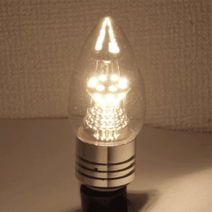 LED電球 シャンデリア球 E17/E14/E...の詳細画像2
