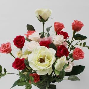 プリザ(誕生日祝い)記念日用プリザーブドフラワー バラの花束が大人気 当店オリジナル|ekoukai