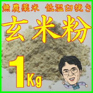 玄米粉 1Kg // レターパックでお届け    お届け先のお名前が違う場合不可