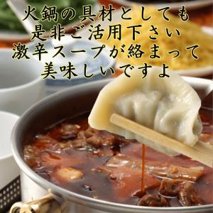 にら 水餃子1Kg 冷凍 // 火鍋底料スープ付|ekubo|09