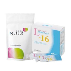 大塚製薬 エクエル パウチ 120粒入り 1袋 + 乳酸菌生成エキスL-16 エクオール