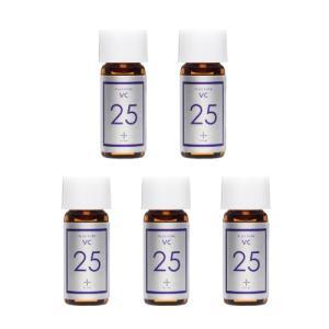 ビタミンC 25% 美容液 プラスピュアVC25ミニ 2mL 5本セット