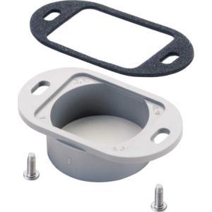 三協アルミ製テラス用の雨樋部品: 集水器