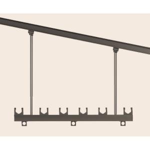 リクシル 吊り下げ式物干し 高さ調整式Bセット ロングタイプ(2本入り 1000〜1400ミリ調整可能)