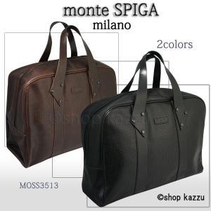 ボストンバッグ ビジネスバッグ メンズ ビジネス バッグ 大きい鞄 大容量 パンチング加工 旅行鞄 出張 MOSS3513 el-diablo
