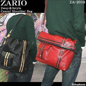 ショルダーバッグ メンズ バッグ 鞄 トートバッグ フェイクレザー  2way&3style ZARIO ZA-2019|el-diablo