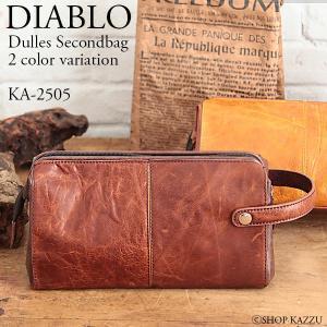 セカンドバッグ メンズ セカンドバック 本革 レザー ダレス型 DIABLO KA-2505|el-diablo