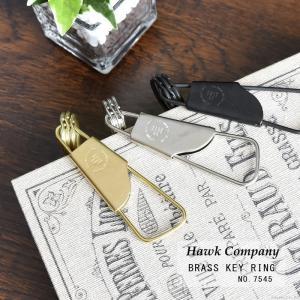 hawkcompany ホークカンパニー キーホルダー キーリング メンズ ユニセックス 真鍮 ストリンガー ポイント消化 ミニサイズ 人気 ブランド No.7545 mlb|el-diablo