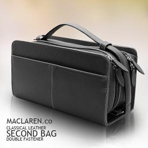セカンドバッグ メンズ フェイクレザー バッグ 鞄 大容量 ダブルファスナー ボックス型 AN-2133|el-diablo