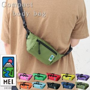 MEI バッグ ボディバッグ メンズ ショルダーバッグ ナイロン 軽量 アウトドア 肩掛け 斜めがけ ウエストポーチ MEI-183301 mlb|el-diablo