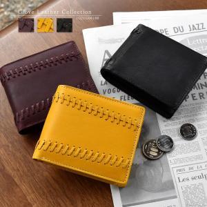 財布 メンズ 二つ折り 本革 グラブレザー グラブモチーフデザイン ショートウォレット MIZUNO 1GJYG06100|el-diablo