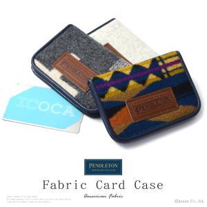 カードケース メンズ ICカード ウール ネイティブ柄 二つ折り パスケース PENDLETON PDW CARD CASE PDT-173201 mlb el-diablo