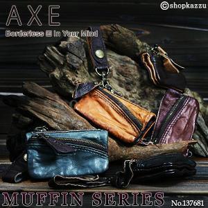 コインケース メンズ 小銭入れ 羊革 AXE マフィンシリーズ 137681|el-diablo
