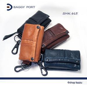 BAGGY PORT キーケース メンズ 本革 牛革 ワックスレザー SNK-615|el-diablo
