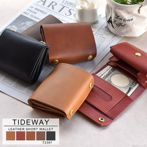 財布 ミニ財布 メンズ 本革 レザー 二つ折り 小さい財布 日本製 TIDEWAY DK BOOK WALLET T2387|el-diablo