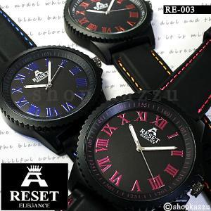 腕時計 メンズ リストウォッチ 時計 カラーステッチ ビッグフェイス ウォッチ|el-diablo