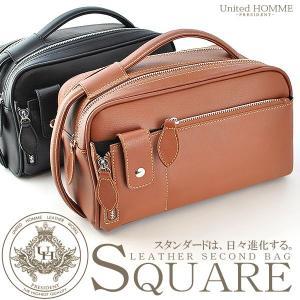 セカンドバッグ メンズ 鞄 牛革 ソフトレザー UHP-2374|el-diablo