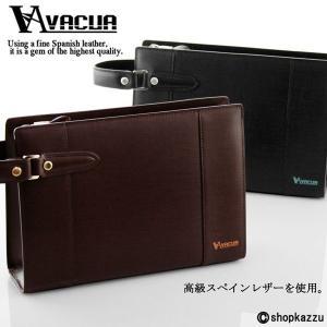 セカンドバッグ メンズ 鞄 本革 スペインレザー VACUA VA-007|el-diablo