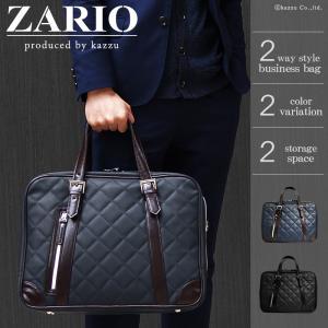 ビジネスバッグ メンズ ビジネスバック A4 ビジネス 鞄 キルティング 2way ショルダー付き 2色 ZA-1002|el-diablo