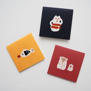 goyururi ごゆるり ヒトコトカードB |メール便対応 グリーティングカード メッセージ ギフト 誕生日 プレゼント|el-market