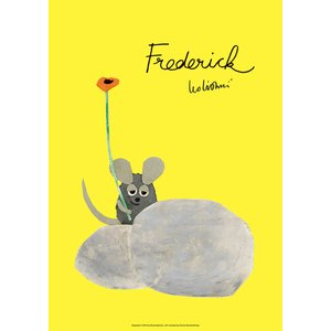 レオ・レオニ(LEO LIONNI)B4サイズ・ポスター『Frederick』|el-market