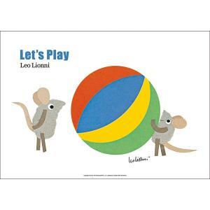 レオ・レオニ(LEO LIONNI)B4サイズ・ポスター『Let's Play』 el-market