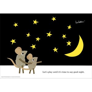 レオ・レオニ(LEO LIONNI)B4サイズ・ポスター『Let's Play:Good Night』 el-market