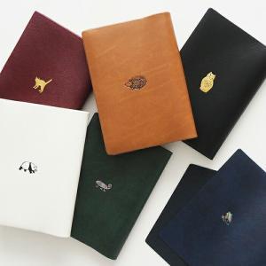 POINT BOOK COVER ワンポイント ブックカバー |メール便対応 読書 本 カバー 文庫本|el-market