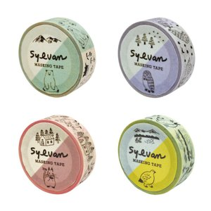 シルヴァン(SYLVAN)マスキングテープ【MATOKA / マトカ】|el-market