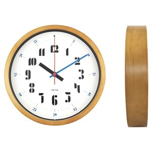 バウハウス『Joschmi』復刻フォント・ウォールクロック / 壁掛け時計(ブルー) el-market