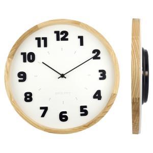 バウハウス『Alfarn』復刻フォント・ウォールクロック / 壁掛け時計(ホワイト) el-market
