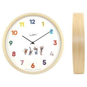 レオ・レオニ(LEO LIONNI)ウォールクロック / 壁掛け時計『Time』 el-market