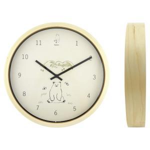 シルヴァン(SYLVAN)ウォールクロック / 壁掛け時計『Bear』|el-market