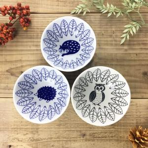 松尾ミユキ セラミックボウル(ふくろう/はりねずみ/ねこ)【日本製 茶碗 ご飯茶碗 ごはん お皿 食器 陶器 磁器】|el-market