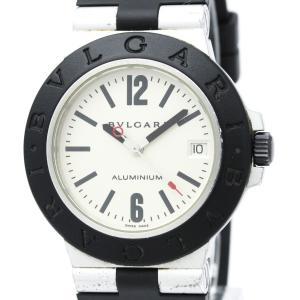 【BVLGARI】ブルガリ アルミニウム ラバー 自動巻き メンズ 時計 AL38A【中古】 elady-ys