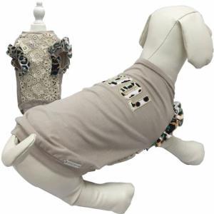 dogvipstar 正規輸入 犬 服 Tシャツ 袖あり ヒョウ柄 春 夏物 XS サイズは外寸です