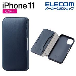 スマホケース iPhone11 ソフトレザーケース 磁石付 カバー iphone6.1 新型 iPh...