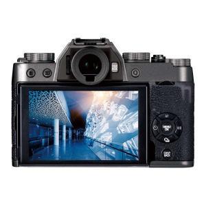 デジタルカメラ 用 液晶保護ガラス 極薄 0.21mm 高光沢 AR デジカメ 液晶保護 フジフイル...