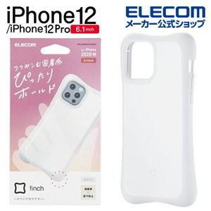 iPhone12/iPhone 12 Pro ケース ハイブリッド finch ぴったりホールド 新...