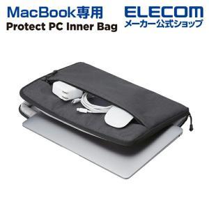 MacBook インナーバッグ 耐衝撃 MacBookインナー ケース おしゃれ マックブック MacBook 用 インナーバッグ ブラック┃BM-IBPM2013BK|エレコムダイレクトショップ